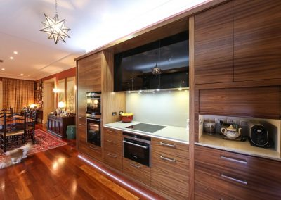 American Walnut Kitchen Design