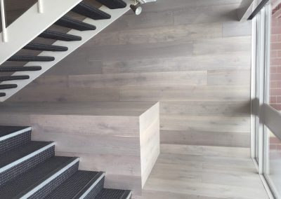 Smokey Oak Timber Floors & Wall