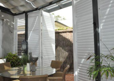 Exterior Aluminium Shutters